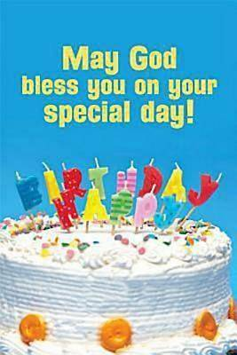 Picture Of Happy Birthday Cake With Candles Postcard Pkg 25