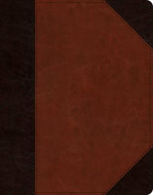 Picture of ESV Single Column Journaling Bible (Trutone, Brown/Cordovan, Portfolio Design)