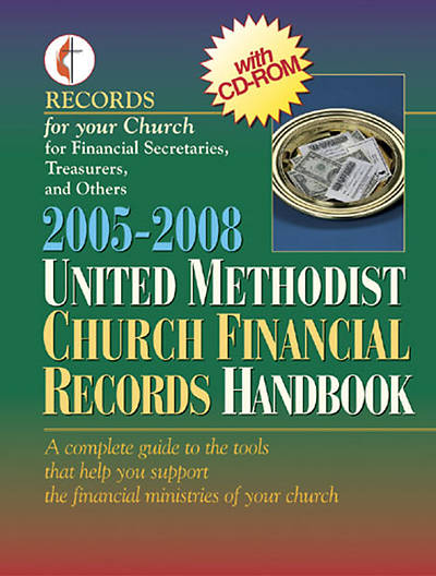 2005-2008 United Methodist Church Financial Records Handbook with CDROM