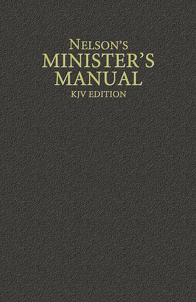 Nelsons Ministers Manual