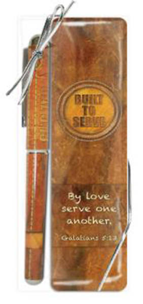 Built to Serve Bookmark & Pen Gift Set