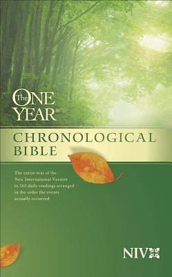 The One Year Chronological Bible New International Version