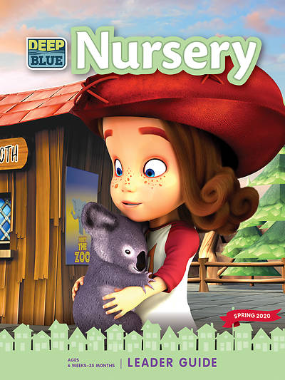 Picture of Deep Blue Nursery Leader Guide Editable Word Doc Download Spring 2020