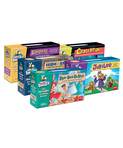 Buzz Value Set (all 5 age levels) Spring 2018