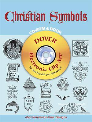 Christian Symbols with CD ROM
