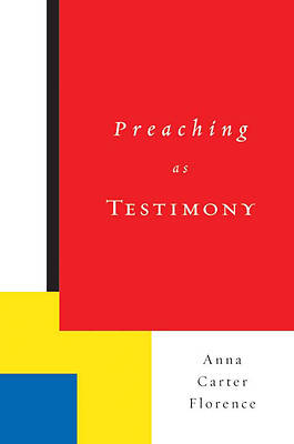 Picture of Preaching as Testimony