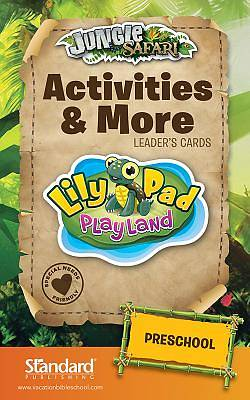 Standard VBS 2014 Jungle Safari Activities & More Leaders Card-Preschool