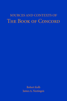 Sources Contexts Book Concord