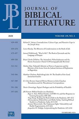 Picture of Journal of Biblical Literature 139.3 (2020)