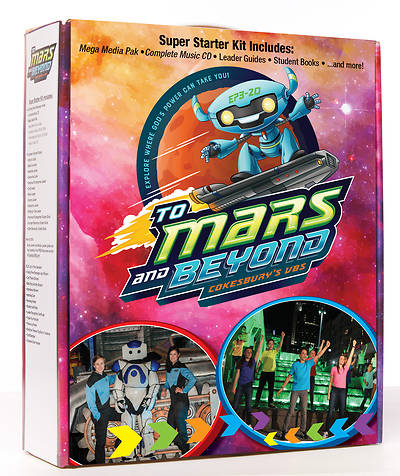 Picture of Vacation Bible School (VBS) To Mars and Beyond Super Starter Kit