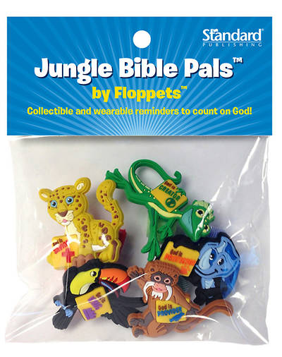 Standard VBS Jungle Safari Jungle Bible Pals™ by Floppets™ (5 different)