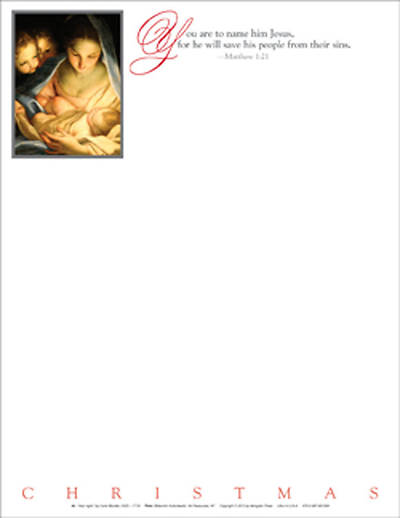 Christmas Nativity Letterhead 2010 (Package of 50)
