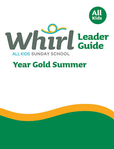 Picture of Whirl All Kids Leader Guide Year Gold Summer