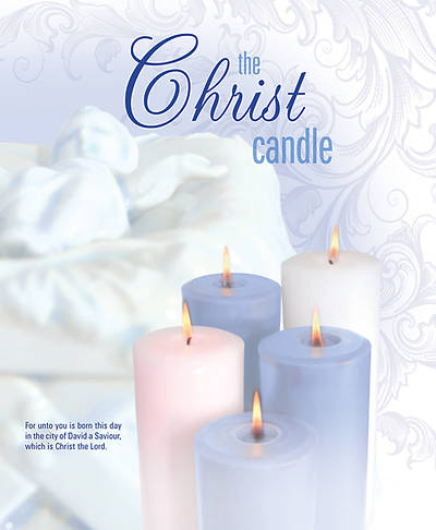 Picture of The Christ Candle Advent Coin Folder