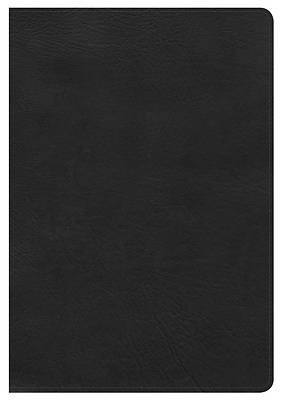 Picture of NKJV Giant Print Reference Bible, Black Leathertouch, Indexed