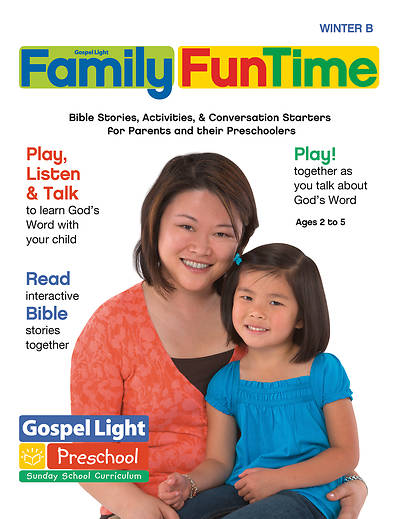Gospel Light Preschoolprek K Age 2 5 Family Fun Time Pages Winter