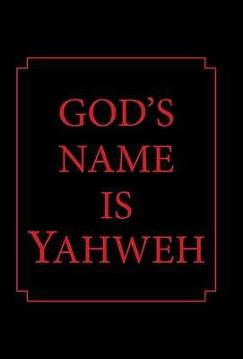Picture of God's Name Is Yahweh