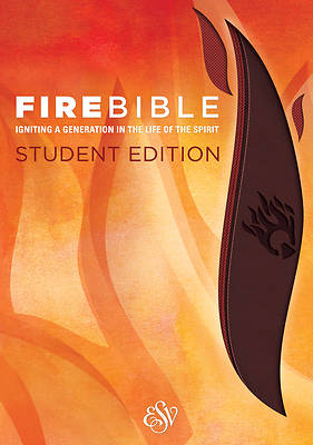 Picture of Fire Bible-ESV-Student