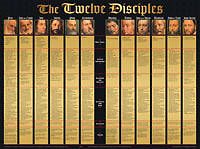Picture of Chart Wall The Twelve Disciples