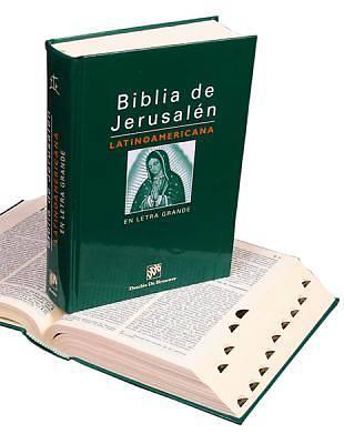 Picture of Biblia de Jerusalen Latinoamericana En Letra Grande