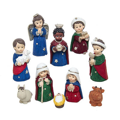 Picture of Children's Nativity Set (10 Piece)