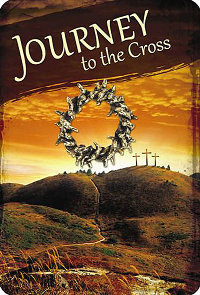 """Journey to the Cross"" Lapel Pin on Card"