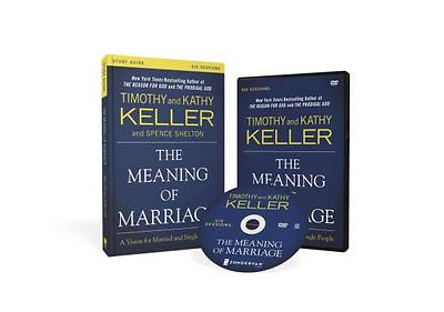 Picture of The Meaning of Marriage Study Guide with DVD