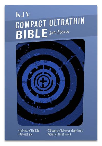 Compact Ultrathin Bible for Teens-KJV