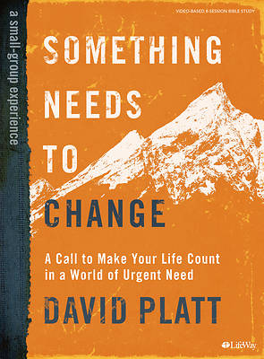 Picture of Something Needs to Change - Bible Study Book