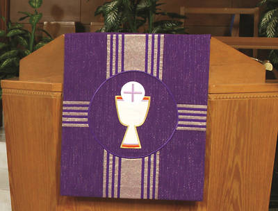Picture of Abbott Hall Kingdom Cross N2449A Lent Pulpit Scarf