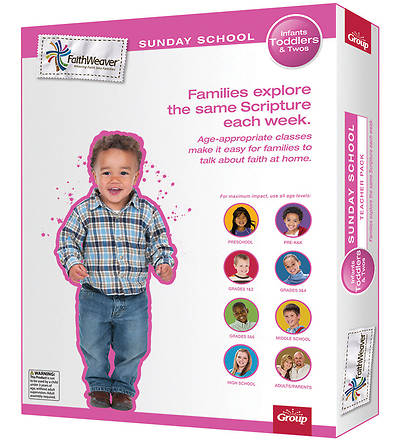 Groups Faithweaver Infant, Toddlers & Twos Teacher Pack Winter 2012-13