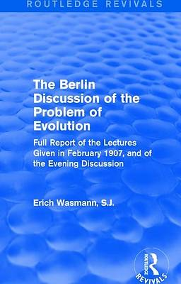 Picture of The Berlin Discussion of the Problem of Evolution