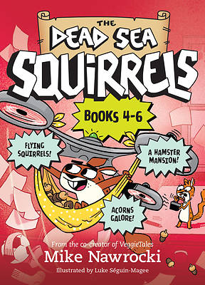 Picture of The Dead Sea Squirrels 3-Pack Books 4-6