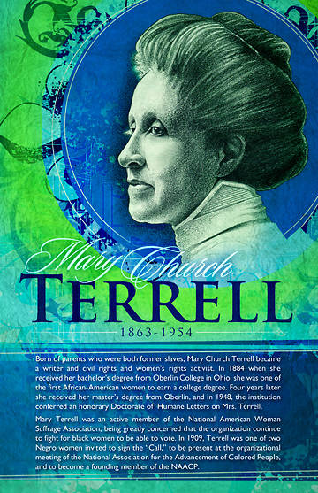 Black History/Mary Church Terrell Bulletin, Regular (Package of 100)