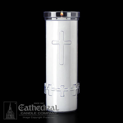 Cathedral Devotiona-Lites Plastic Offering Lights - 6 Day, Crystal