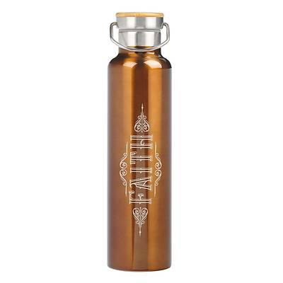 Picture of Stainless Steel Water Bottle Faith Hebrews 11
