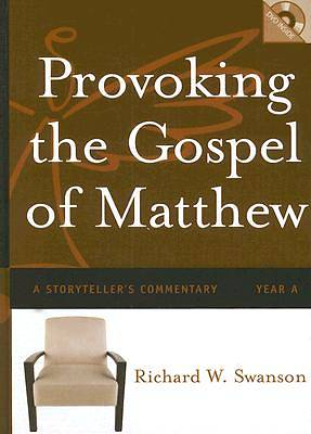 Picture of Provoking the Gospel of Matthew