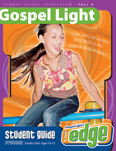 Picture of Gospel Light Preteen Grades 5-6 Student Guide Fall Year A