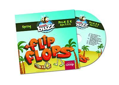Picture of Buzz PreK-K Flip Flops CD Spring 2021