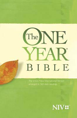 Picture of The One Year Bible NIV