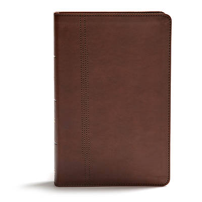 CSB Life Restoration Bible, Brown Leathertouch