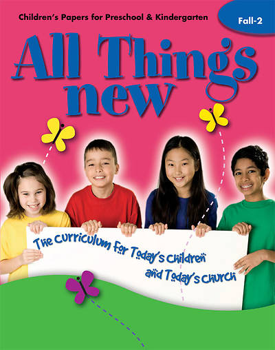All Things New Fall 2 Childrens Papers (Preschool/Kindergarten)