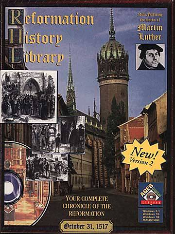 Reformation History Library on CD-ROM