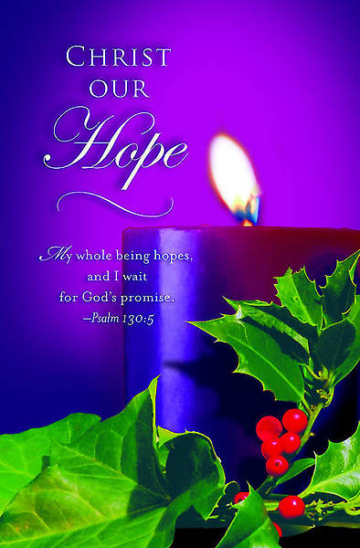 Advent Purple Sunday 1 Bulletin 2012, Regular Size (Package of 50)