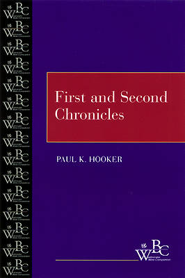 Westminster Bible Companion - First and Second Chronicles