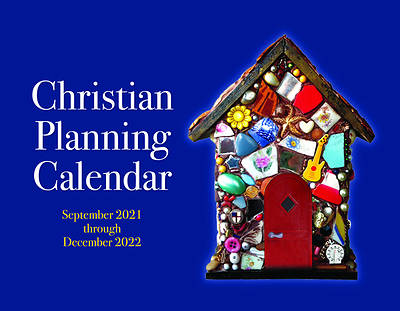 Picture of 2022 Chrisitan Planning Calendar