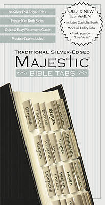 Picture of Majestic Traditional Silver-Edged Bible Tabs