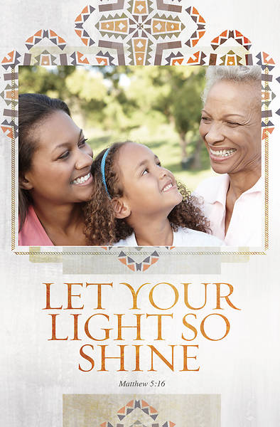 Let Your Light Shine Heritage Bulletin - Pack of 100