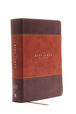 Picture of The King James Study Bible, Imitation Leather, Brown, Indexed, Full-Color Edition