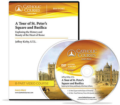 A Tour of St. Peters Square and Basilica (Audio CD)